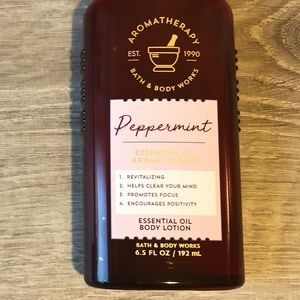 Bath and Body Works Peppermint Lotion